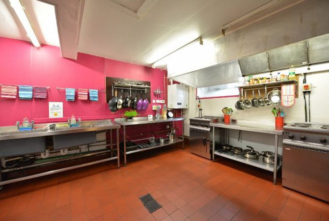 Oban Backpackers Kitchen