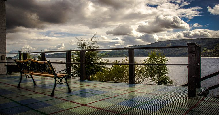 Lochside Hostel Patio