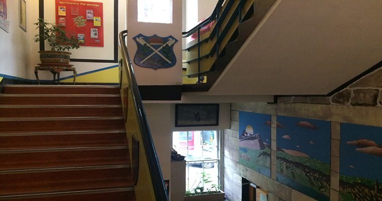 High Street Hostel Stairwell