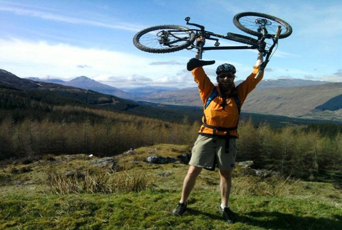 Pitlochry Backpackers Hotel Bike