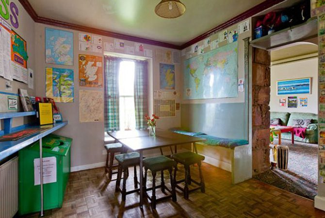 Inverness Student Hotel Kitchen
