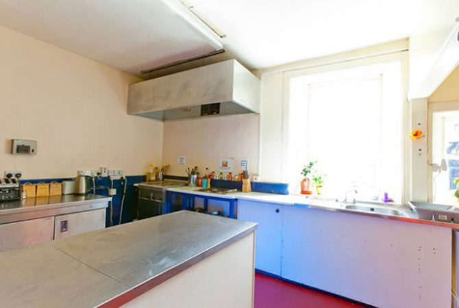 Pitlochry Backpackers Hotel Kitchen