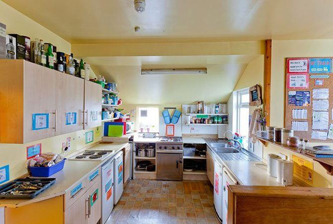Skye Backpackers Kitchen