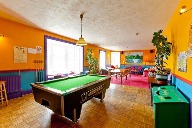 Pitlochry Backpackers Hotel Games Room