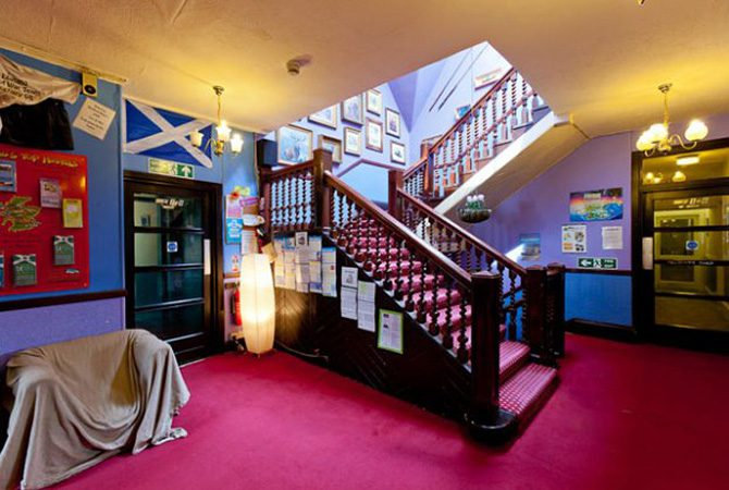Pitlochry Backpackers Hotel Reception