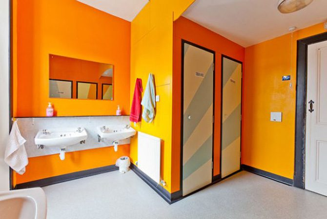 Pitlochry Backpackers Hotel Shower
