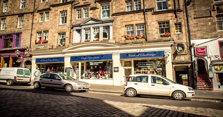 Royal Mile Backpackers Building