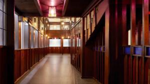 Mackintosh's Oak Room. Edinburgh to V&a dundee