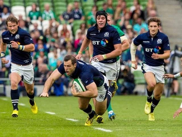 Scotland rugby team