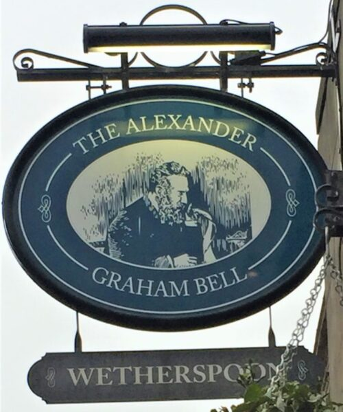 Dining With Scottish History: The Alexander Graham Bell Wetherspoon
