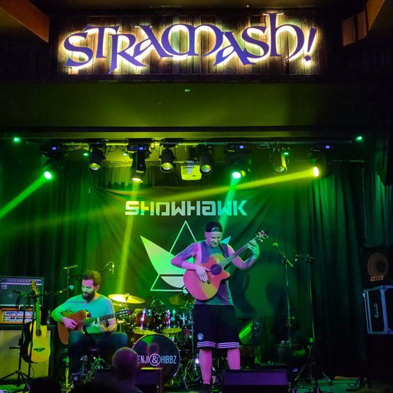 Showhawk duo live at Stramash - Live Music Bars Edinburgh