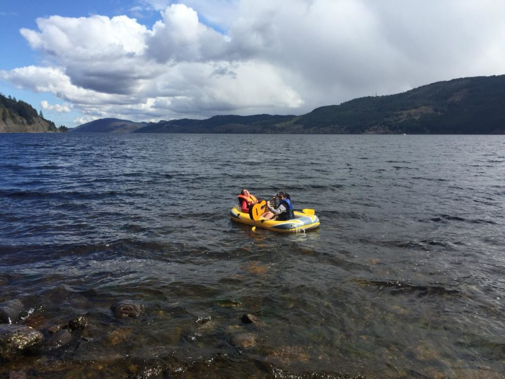 Out on the water of Loch Ness - Mysteries of the Loch - Lochside Hostel - Scotland's Top Hostels