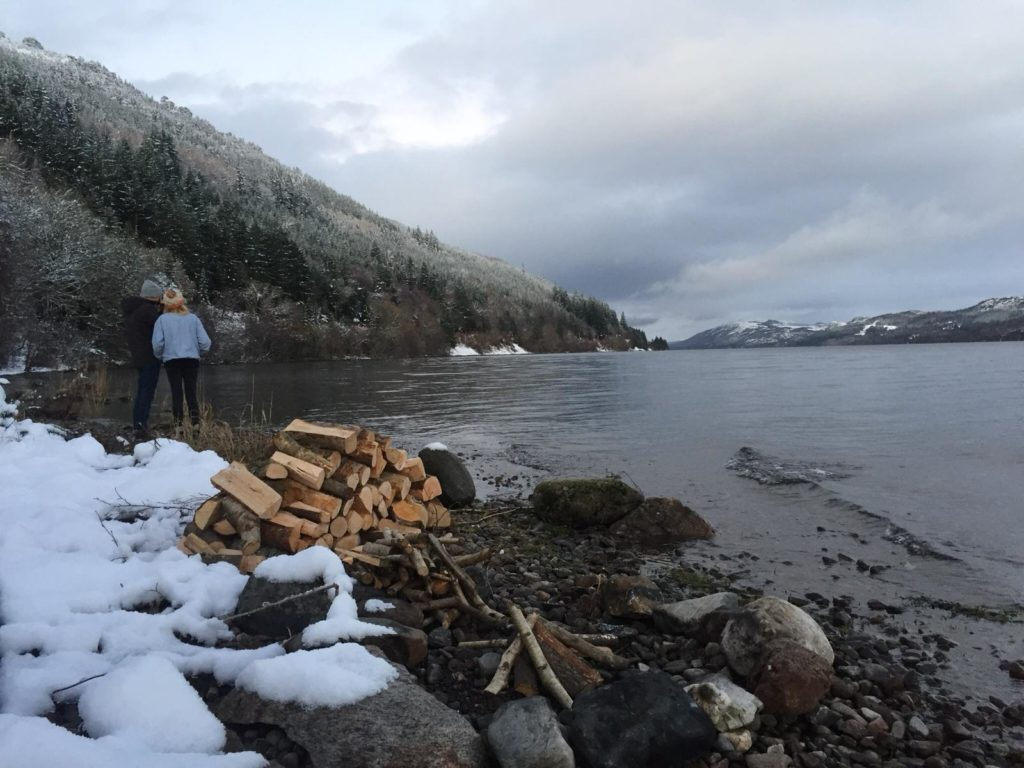 Bonfire on the banks of Loch Ness - Mysteries of Loch Ness - Scotland's Top Hostels