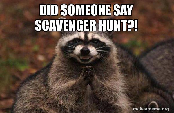 The Castle Rock Scavenger Hunt