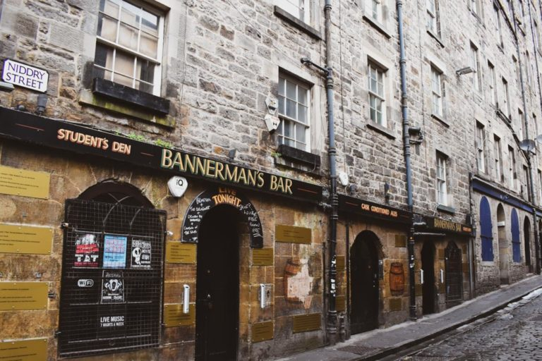Bannerman's Live Music Bar Edinburgh
