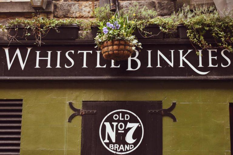 Whistle Binkies Live Music Bar Edinburgh