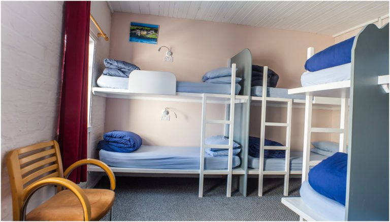 Eight Bed Dorm of Lochside Hostel