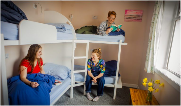 Four Bed Dorm of Lochside Hostel