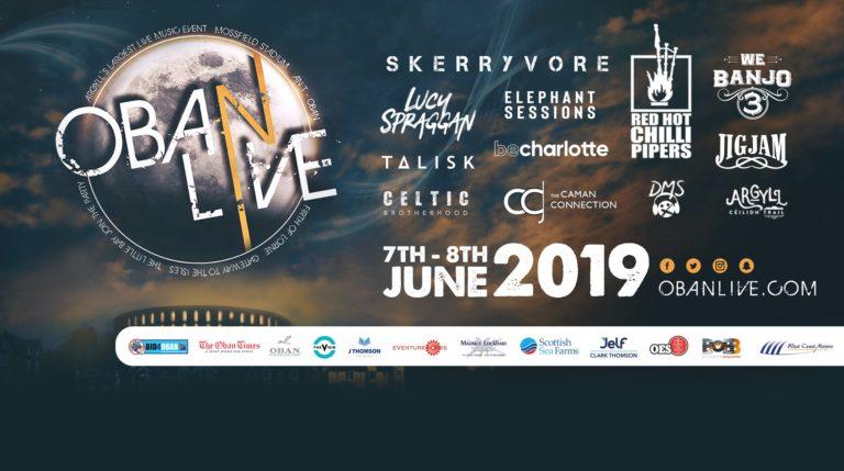 Oban Live Festival - June Events Scotland