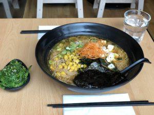 Miso Ramen - Maki Ramen Edinburgh - Gluten Free Edinburgh