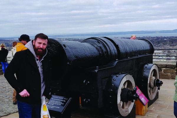 Mons Meg at Edinburgh Castle