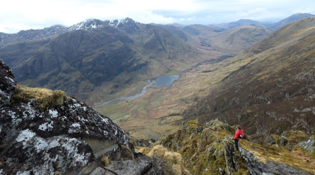 Aonach Eagach Ridge - Glen Coe - Munro Bagging