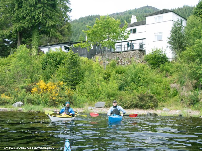 Lochside Hostel from the water(Ewan Vernon)
