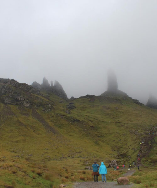 The Dreamy Mists of the Isle of Skye