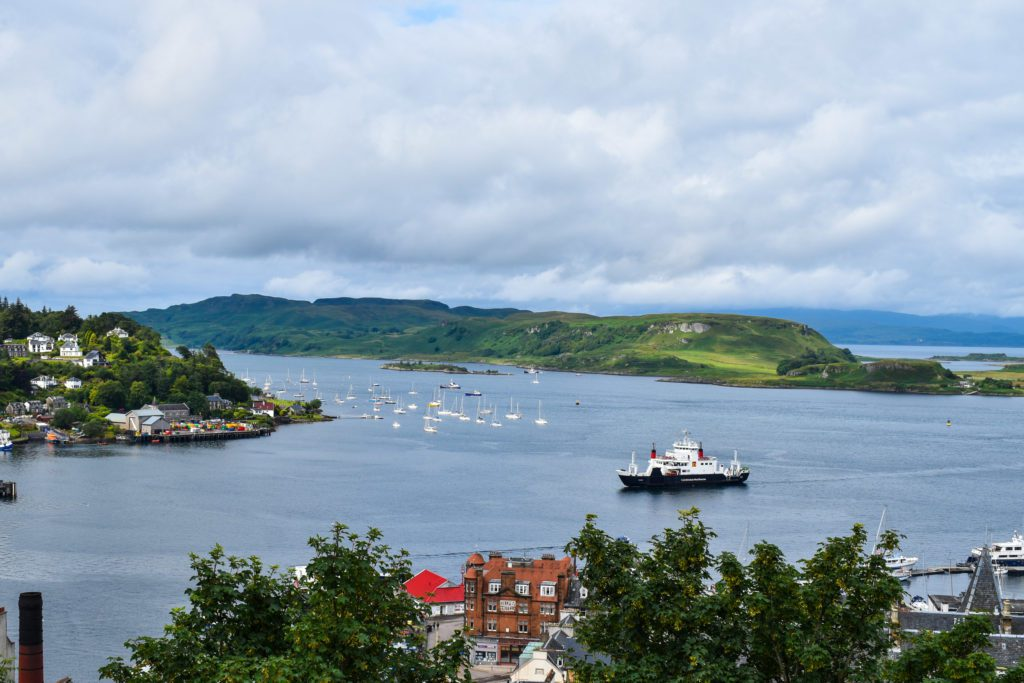 Oban from McCaig's Tower