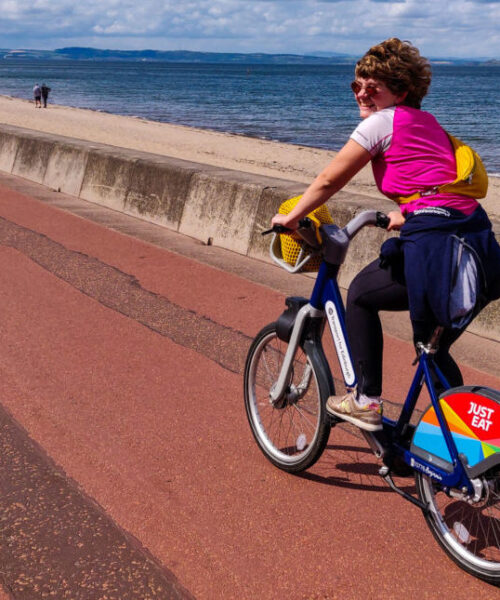 Cycle Edinburgh: Exploring the city's cycle routes