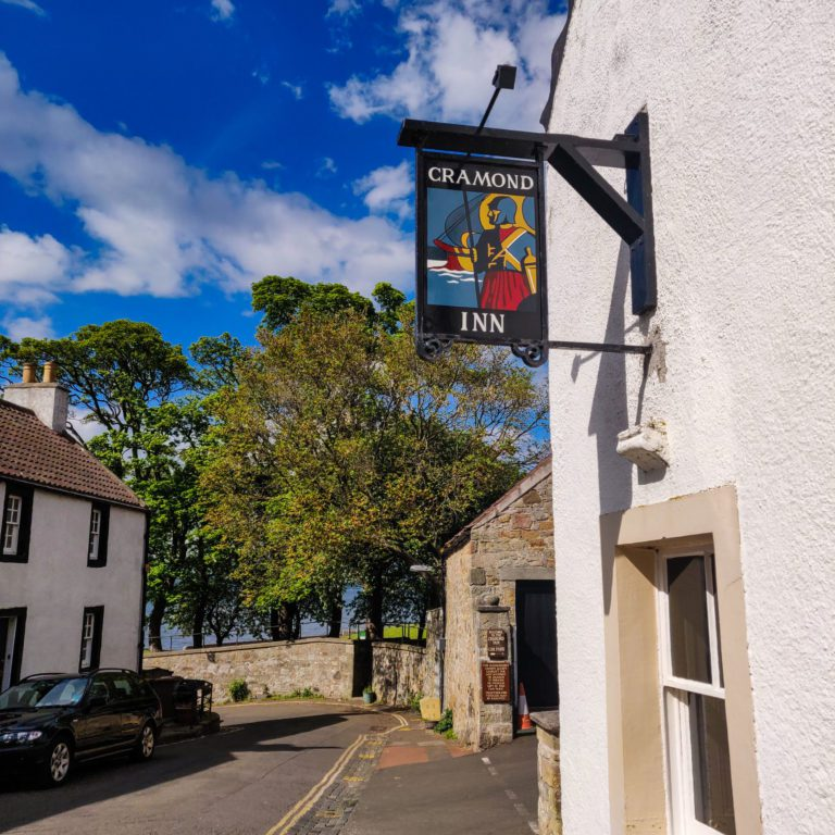 Cramond Inn - Cycling Edinburgh
