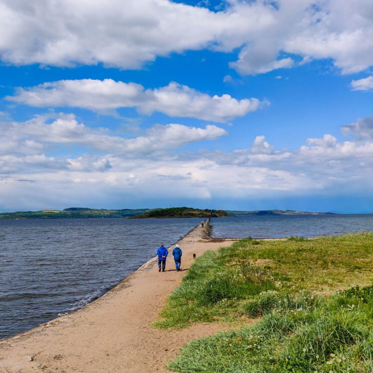 Cramond Island - Cycling Edinburgh