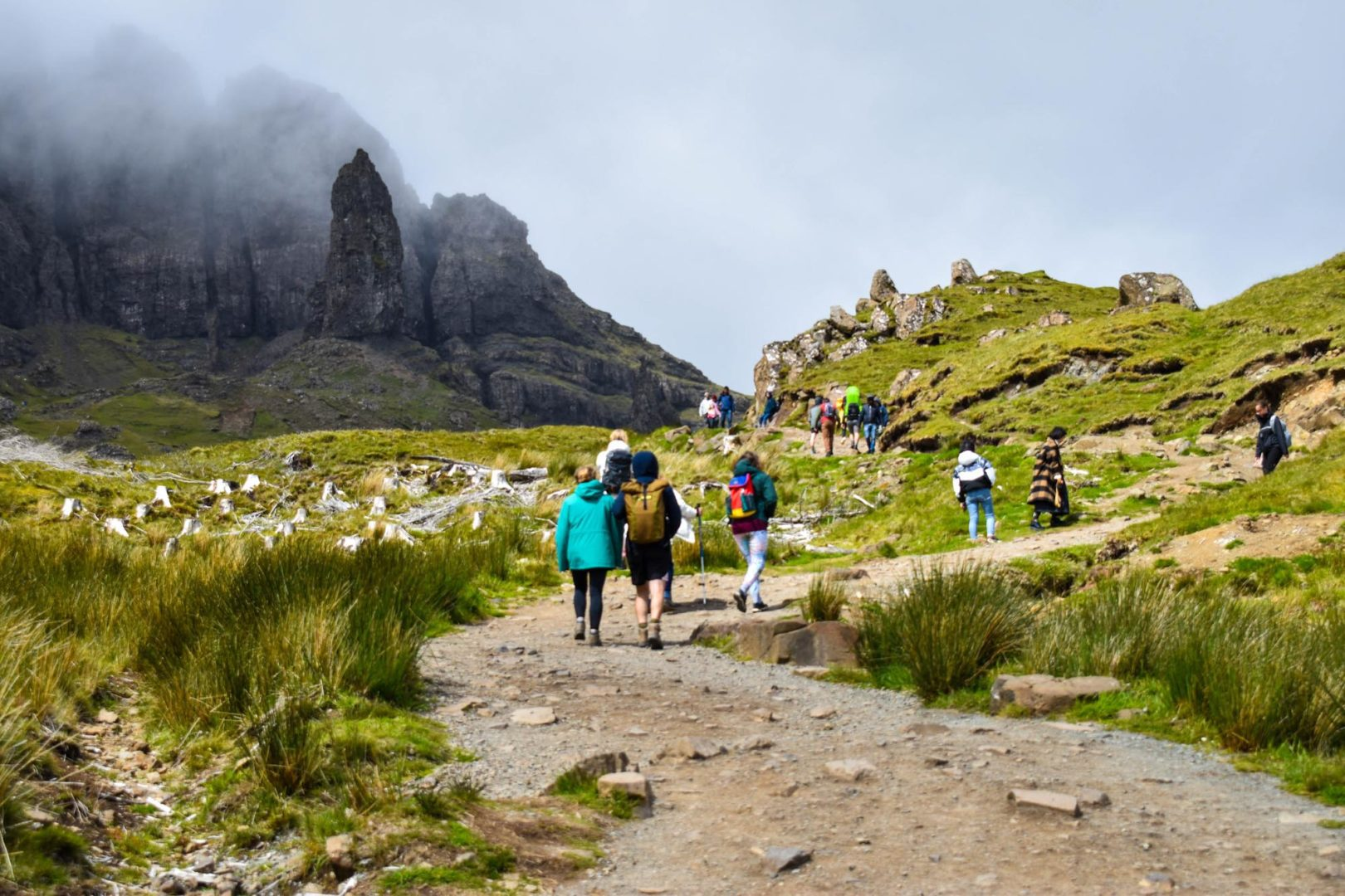 MacBackpackers Tour The Old Man of Storr