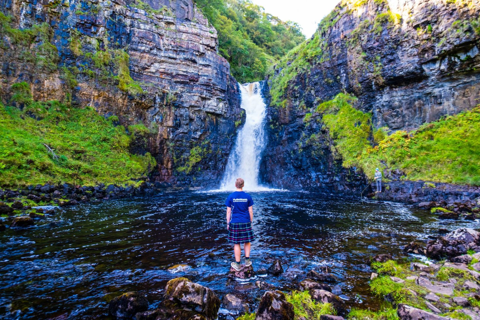 MacBackpackers Tour Lealt Falls by Rolling Sloane