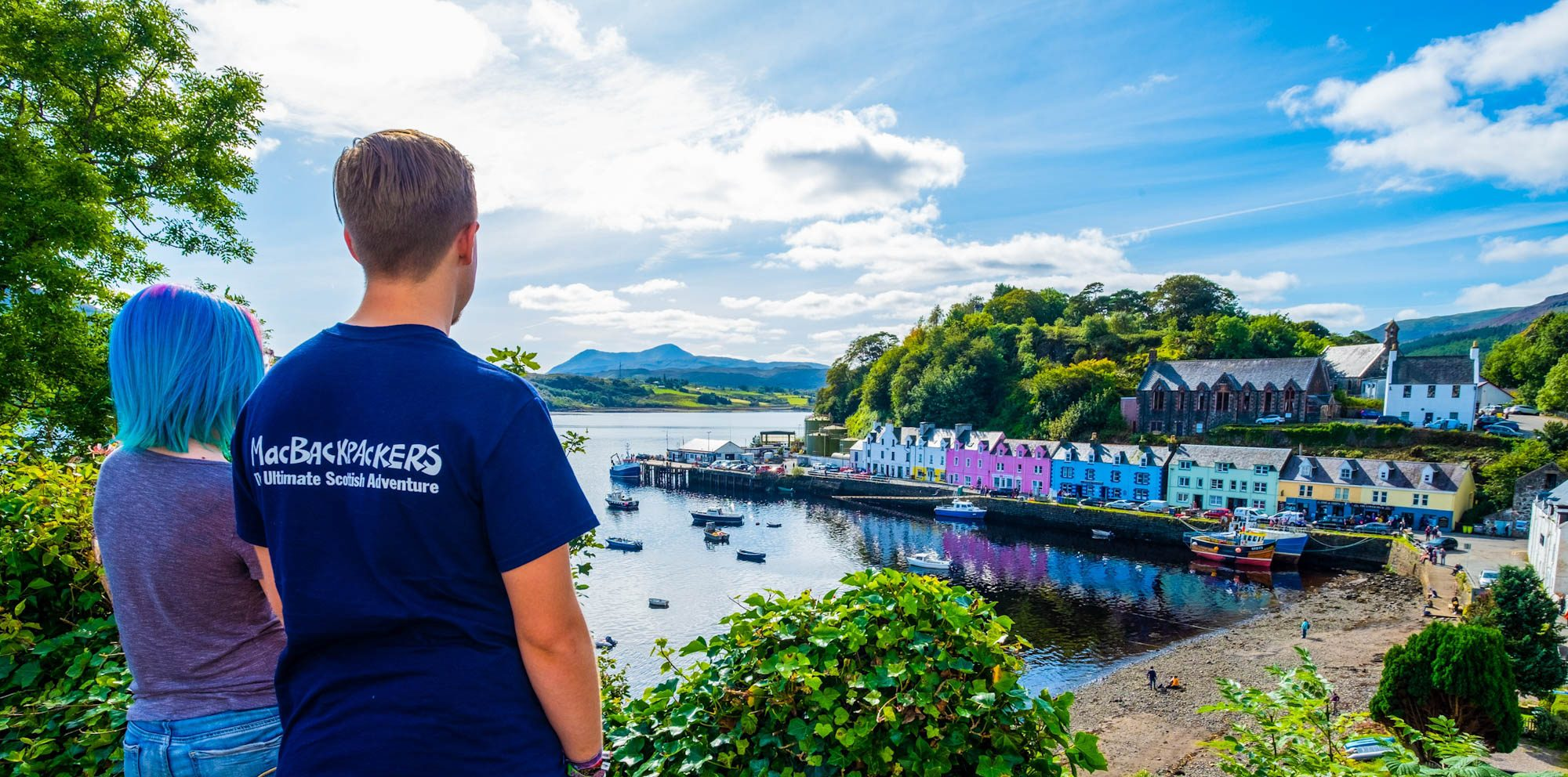 Portree Harbour by Rolling Sloane