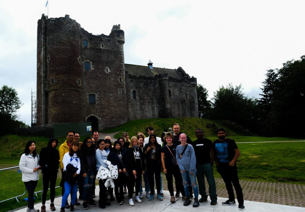 Doune Castle by Rolling Sloane on a MacBackpackers Tour