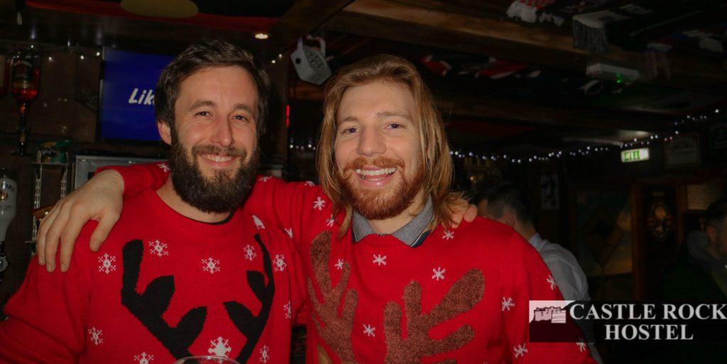 Winter in Edinburgh - Christmas Jumper Pub Crawl