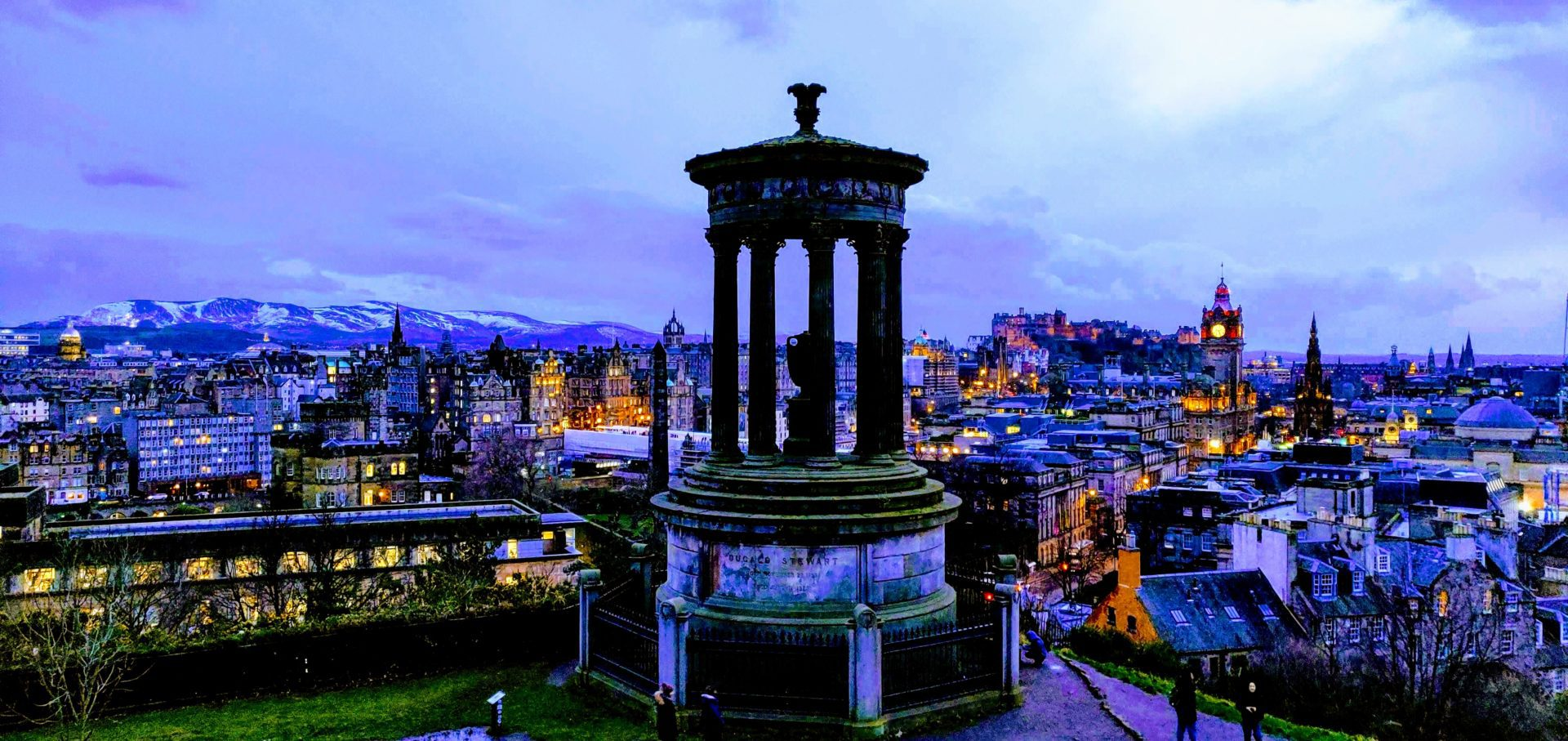 Calton Hill View - Top Photo Spots Edinburgh