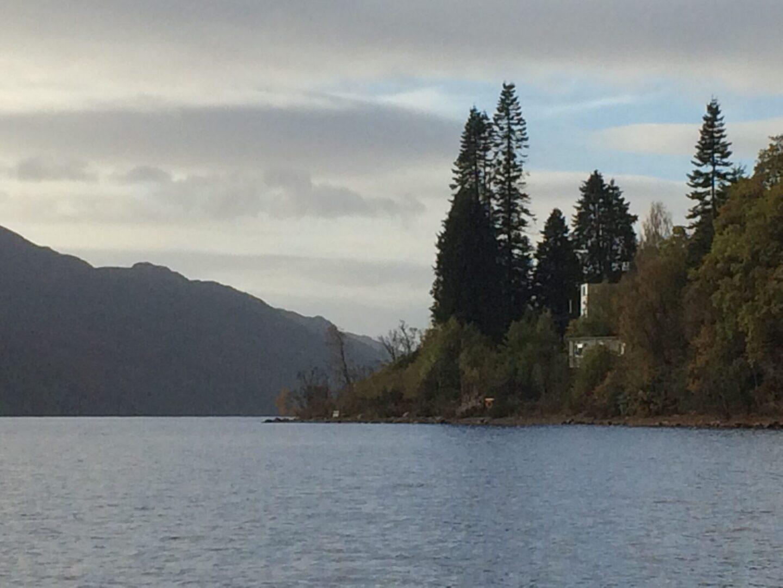 Lochside Hostel from Distance