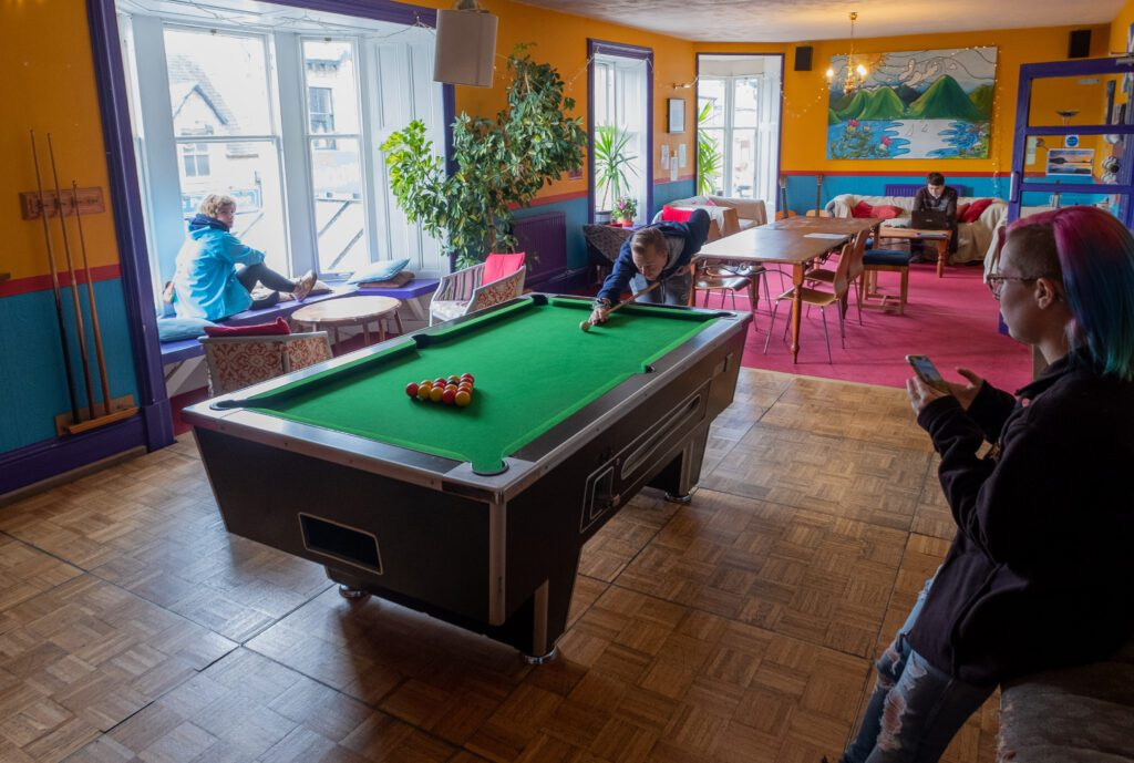 Pitlochry Backpackers Hotel Lounge