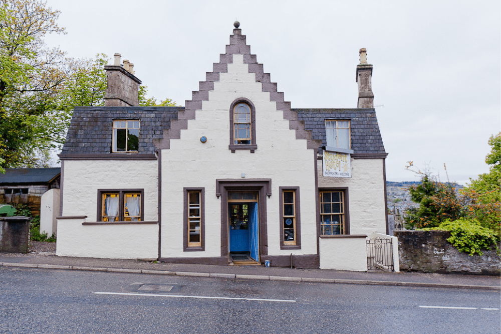 Inverness Student Hotel Front