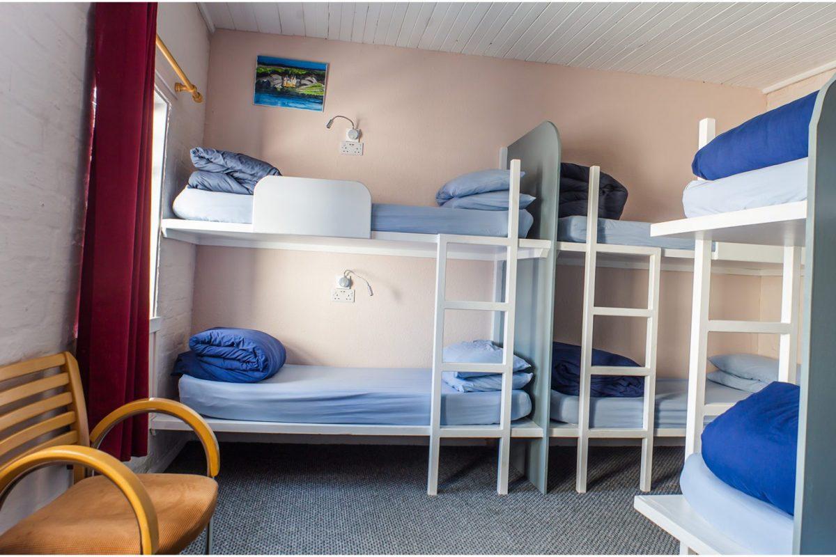 Eight Bed Dorm of Lochside Hostel