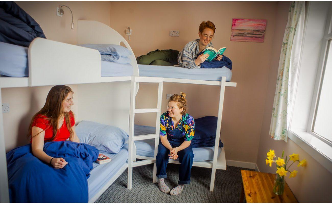 Four Bed Dorm of Lochside Hostel