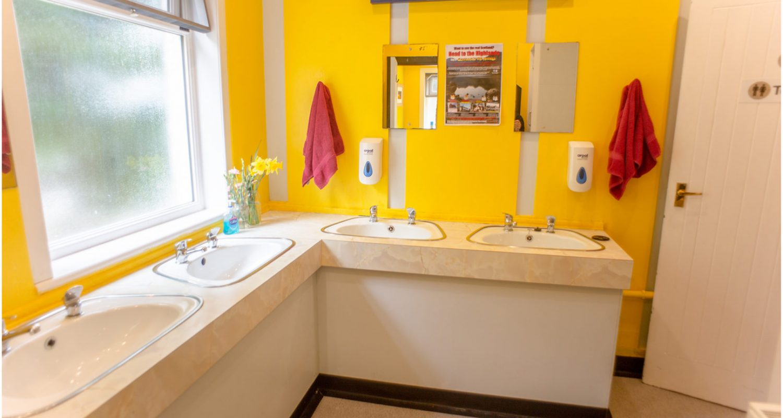 Bathroom of Lochside Hostel