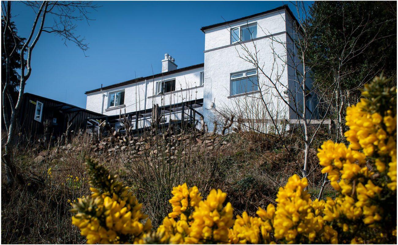Lochside Hostel Building from Loch Ness banks